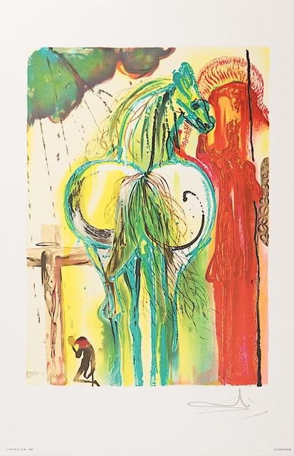 Salvador Dalí, 'Le Centurion', 1983, Art Lithographies