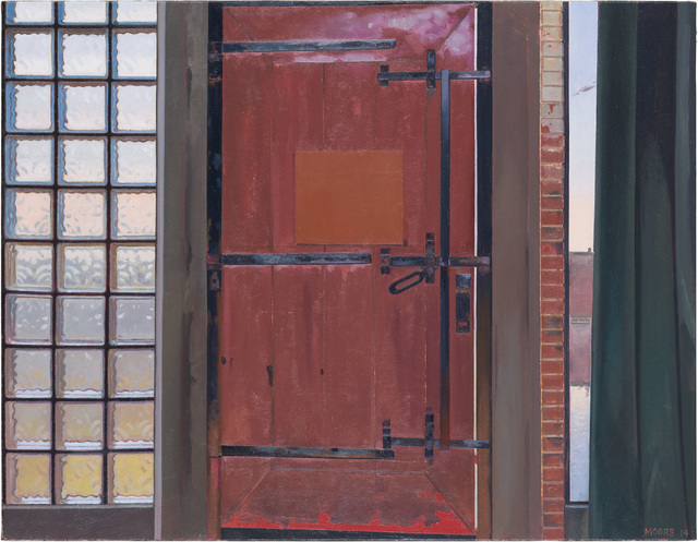 , 'Red Door,' 2014, Locks Gallery
