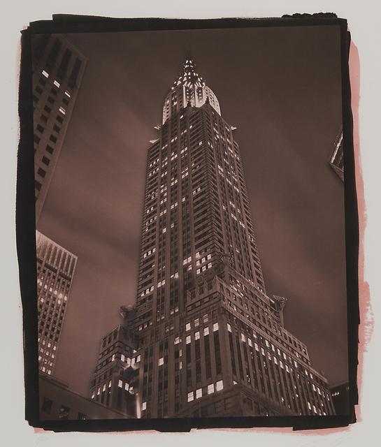Tom Baril, 'Chrysler Building at Night', Rago