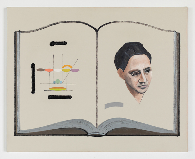 , 'The Book of Portraiture, (Picasso, Gertrude Stein),' 2019, Simone DeSousa Gallery