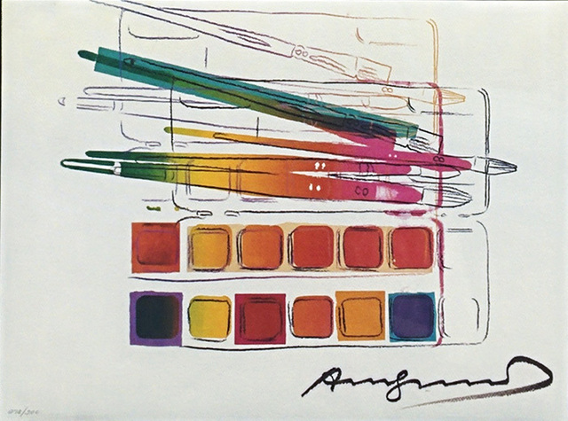 Andy Warhol, 'WATERCOLOR PAINTKIT WITH BRUSHES FS II.288', 1982, Marcel Katz Art