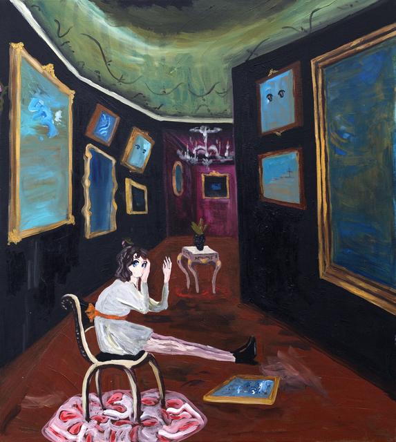 , 'Interior cuadros cielo,' 2017, PIEDRAS