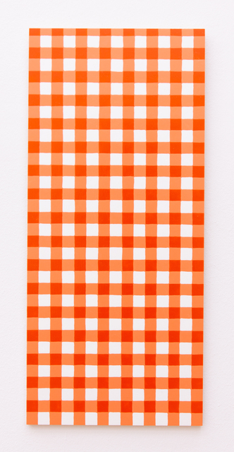 Michelle Grabner, 'Untitled', 2011, Painting, Acylic on wood, Galerie Gisela Clement
