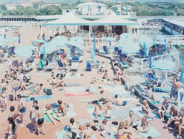 Massimo Vitali, 'Bagni Lido, from A Portfolio of Landscapes and Figures, Sheet #15', 2006, Heritage Auctions