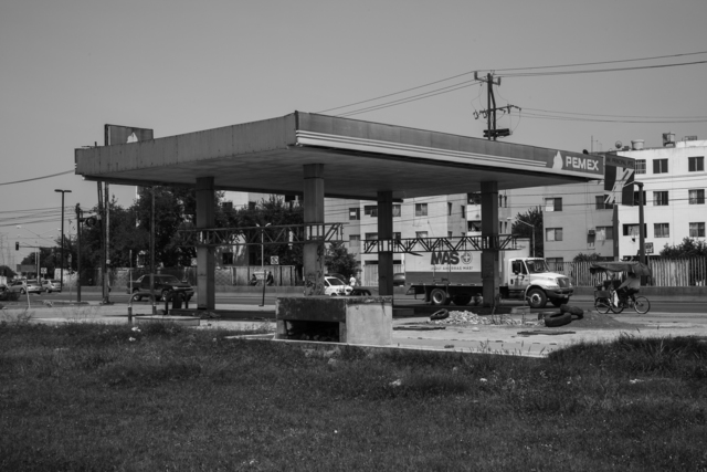 , '26 Used to be Gasoline Stations (Av. Revolución, Monterrey NL),' 2007-2015, Machete