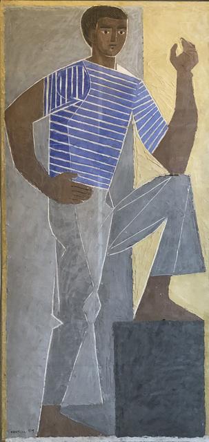, 'Standing Figure,' 1959, Osborne Samuel