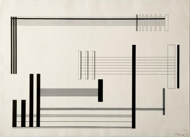 , 'Composiçao - elementos perpendiculares,' 1956, Museo de Arte Contemporáneo de Buenos Aires