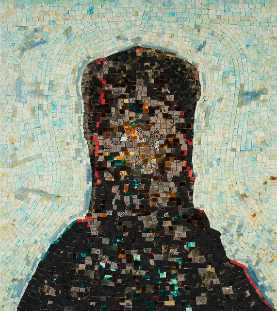 Jack Whitten, 'Black Monolith, II: Homage To Ralph Ellison The Invisible Man', 1994, Painting, Acrylic, molasses, copper, salt, coal, ash, chocolate, onion, herbs, rust, eggshell, razor blade on canvas, Walker Art Center