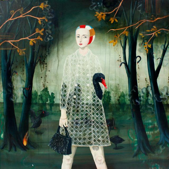 , 'Black Swan,' 2019, Slete Gallery