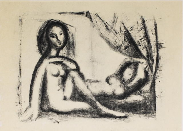 Pablo Picasso, 'Les Deux Femmes Nues (The Two Naked Women), 1949 Limited edition Lithogrph by Pablo Picasso', 1949, White Cross