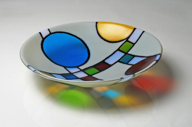 Jim Scheller, 'Mrs. Coonley's Kindergarten', 2019, Design/Decorative Art, Kiln formed glass, Springfield Art Association