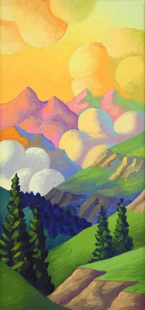 , 'Paesaggio montano,' 1994, Dep Art