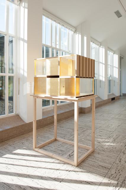 """, 'Installation view of """"Jan van de Pavert - Models"""",' 2016, Museum Boijmans Van Beuningen"""