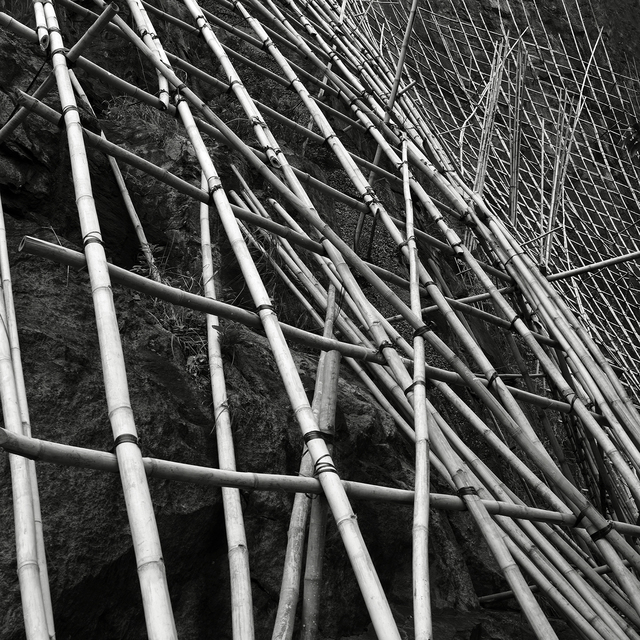 , 'Bamboo Trellis #2, Hong Kong - 2009,' 2009, Contemporary by Angela Li
