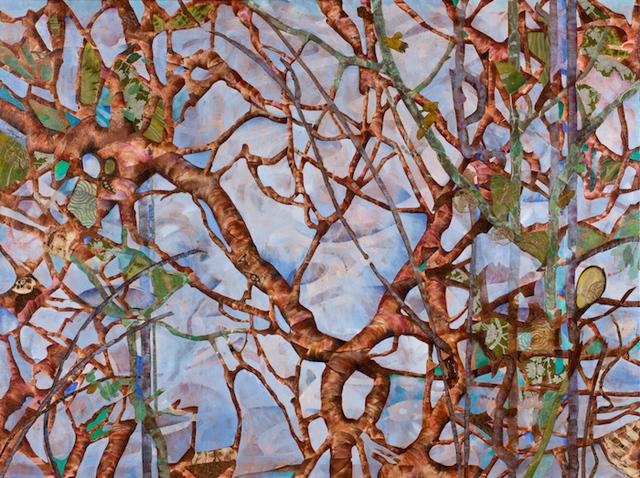 Lauren Jones Worth, ' Tree Tattoos', 2013, Walter Wickiser Gallery