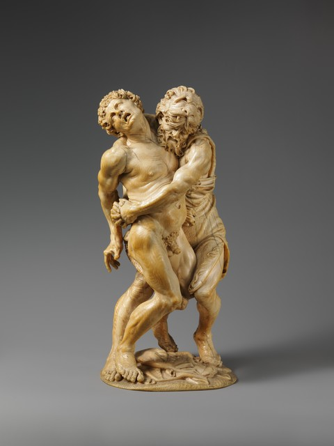 Attributed to the Master of the Martyrdom of St. Sebastian, 'Hercules and Achelous', ca. mid-17th century, The Metropolitan Museum of Art