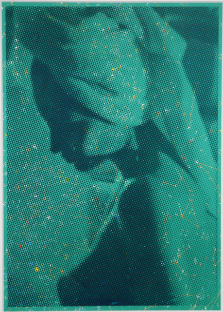 , 'Camilla, Hotel Platine, Room 705 (green print),' 2016, HUMO Gallery