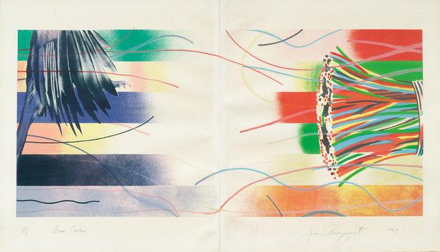 James Rosenquist, 'Area Code', 1969, Print, Colour lithograph, Koller Auctions