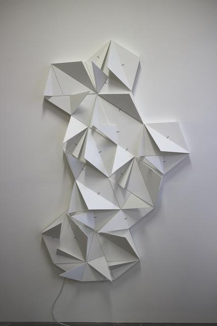, 'Origami Permutation Hexa Rhombi,' 2016, Galerie Denise René