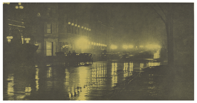 , 'The Glow of Night - New York,' 1897, J. Paul Getty Museum