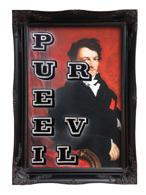 , 'PURE EVIL (Portrait),' 2015, StolenSpace Gallery