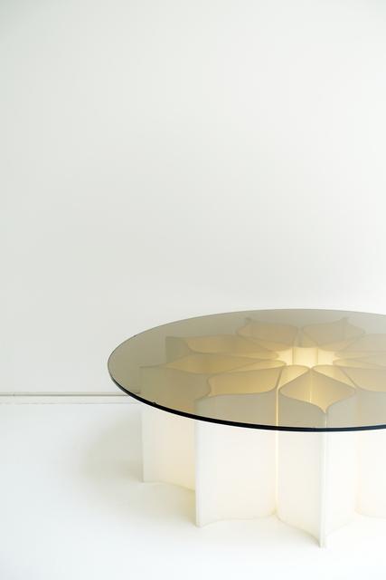 """, ' Low table """"Élysée"""",' ca. 1972, Jousse Entreprise"""