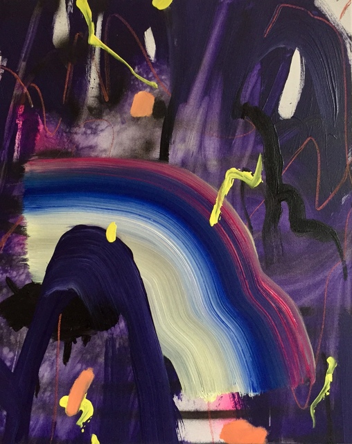 , 'Come Together (purple),' 2017, Mindy Solomon Gallery