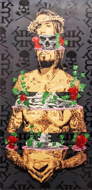 "Kar-Part, '""Navarro""- Dave Navarro  aerosol on canvas', 2020, Painting, Aerosol on canvas, Wallspace"
