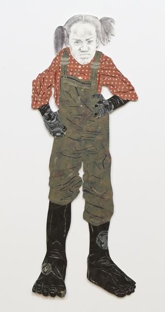 Craig Norton, 'Girl with Braids', 2008, Heather James Fine Art