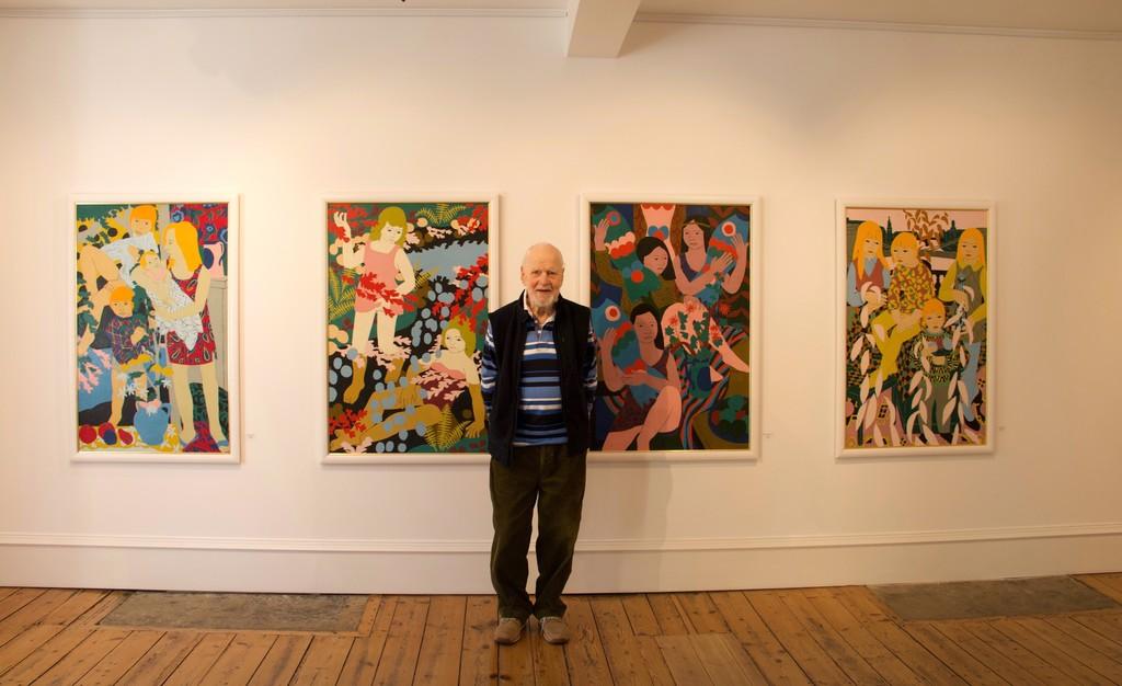 Norman Gilbert at Tatha Gallery May 2019