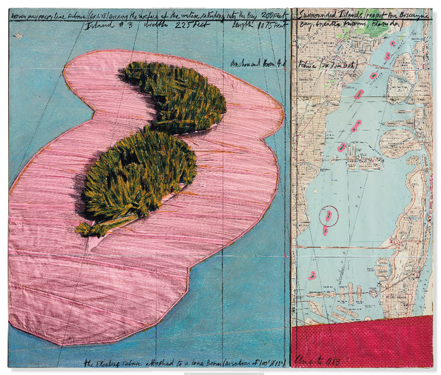 Christo and Jeanne-Claude, 'Surrounded Islands (Project for Biscayne Bay, Greater Miami, Florida', 1983, Repetto Gallery