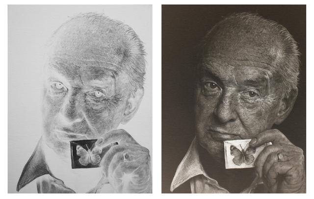 , 'Untitled - Vladimir Nabokov,' 2014, Galerie Huit