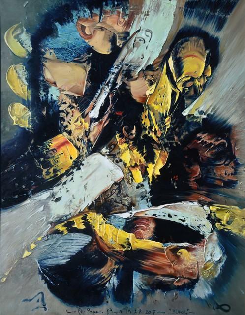 , 'Bluur Hitam,' 2017, Mizuma Art Gallery