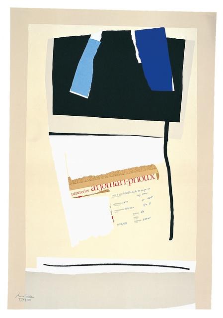 Robert Motherwell, 'America - La France Variations VI', 1984, Kasmin
