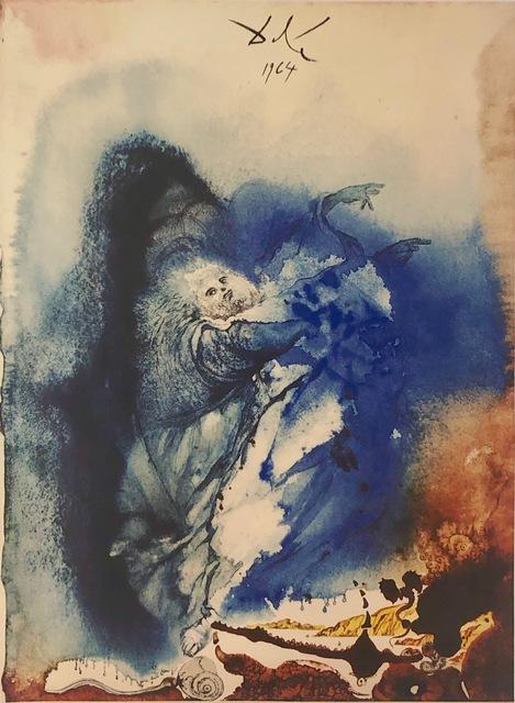 Salvador Dalí, 'The Creation of Earthly and Sea Animals, 'Creatio Animalium Terrae et Maris', Biblia Sacra', 1967, Print, Original Lithograph, Inviere Gallery
