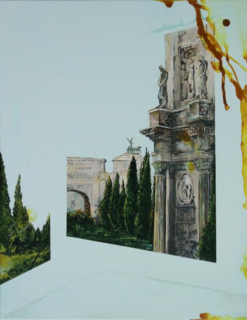 , 'Revisited XXX (Rome),' 2018, Alden Gallery