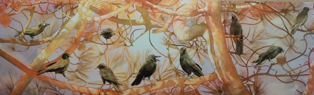 , 'Crow's World,' 2018, Seager Gray Gallery