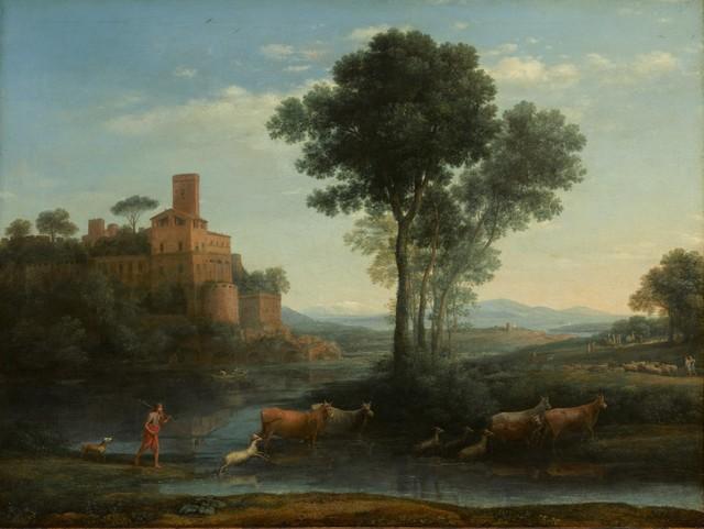 Claude Lorrain, 'Landscape with the Voyage of Jacob', 1677, Clark Art Institute