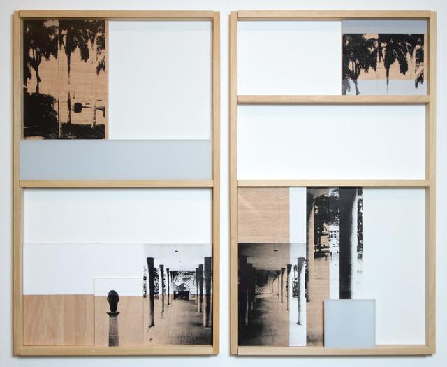 , 'Fachada-Dispositivo 12 (díptico),' 2014, Silvia Cintra + Box 4