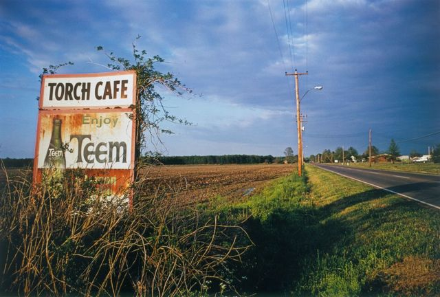 William Eggleston, 'UNTITLED (TORCH CAFE BILLBOARD) MISSISSIPPI [FROM DUST BELLS 2] ', 1973, Cheim & Read