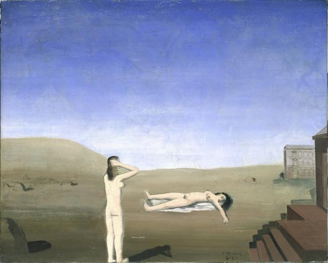 Paul Delvaux, 'Women and Stones', 1934, ARS/Art Resource