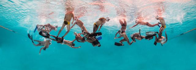, 'Timeline Underwater Rugby II,' 2015, Artemisa Gallery