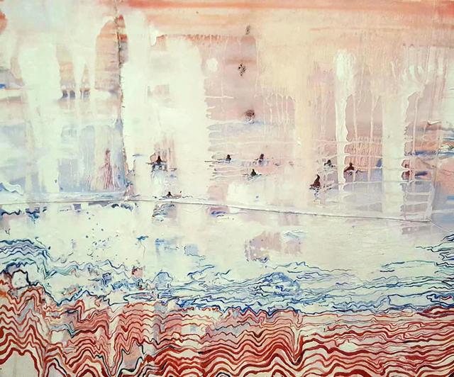 Forouz Zarei, 'Untitled (One)', 2019, Painting, Oil on canvas, Abe+Okuta