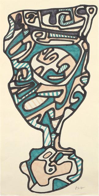 Jean Dubuffet, 'Le verre d'eau', 24489, Phillips