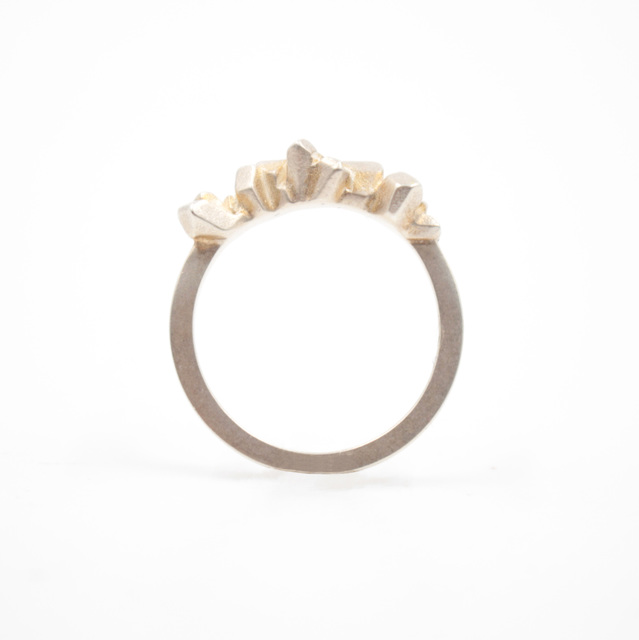 , 'Sterling Silver Satin Finish Super Fine Ring   ,' 2016, form & concept
