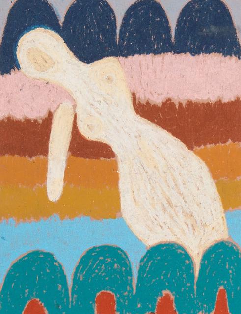, 'the swimmer at playa santa maria,' 2016, Alter Space