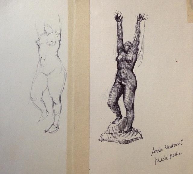 Julia Levitina, 'D'après I. Mestrovič (Musée Rodin) | After I. Mestrovič (Musée Rodin)', Stanek Gallery