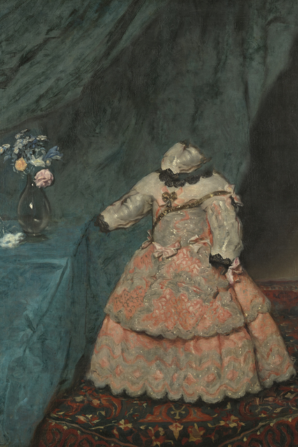 , 'Caput # 10 / 321, based on: INFANTIN MARGARITA TERESA (1651–1673) by Diego Rodríguez de Silva y Velázquez, um 1653/1654,' 2018, Galerie Reinthaler