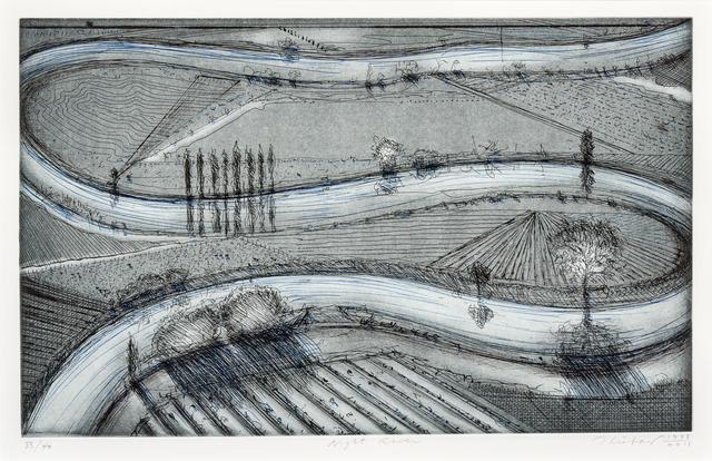 Wayne Thiebaud, 'Night River', Hindman