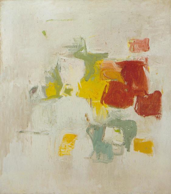 Esteban Vicente, 'Yellow world', 1950, Galería Daniel Cardani